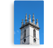 St Mary Somerset Canvas Print