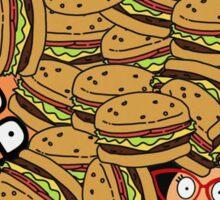 Bob's Burgers - Fast Food Family Sticker
