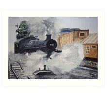 GWR Prairie Class 4160 Art Print