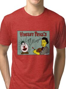 Vincent Price's Egg Magic Tri-blend T-Shirt