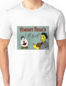 Vincent Price's Egg Magic Unisex T-Shirt
