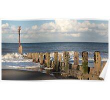 Mundesley Beach IV, Norfolk, England Poster