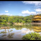 The Golden Temple in Kyoto by jonshock