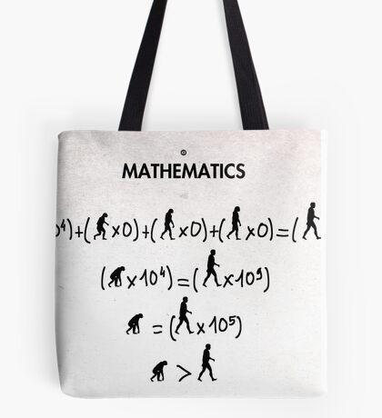 99 Steps of Progress - Mathematics Tote Bag