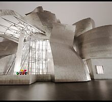 The Guggenheim in Bilbao by jonshock