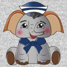 Baby Plumpy Elephant by Rainy