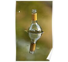 Message In A Bottle (Multi Reflections) Poster
