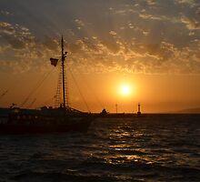 Mykonos Sunset II by Jamie Alexander