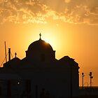 Mykonos Sunset III by Jamie Alexander
