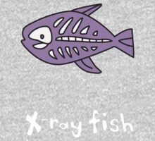 X for Xray Fish by gillianjaplit