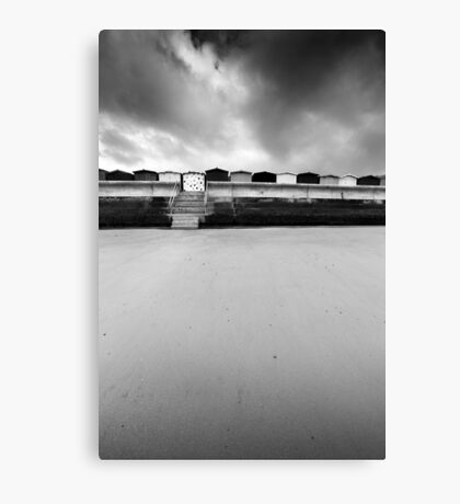 Spot The Difference BW Canvas Print