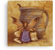 Cocoa Fairy Canvas Print