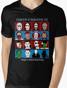 Hyper Creep Fighter II Mens V-Neck T-Shirt