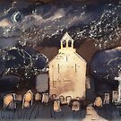 'Church by Moonlight' by Martin Williamson (©cobbybrook)