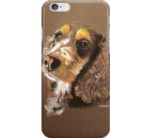 Kizzy the multi-coloured Cocker Spaniel iPhone Case/Skin