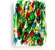 Primary Composition Canvas Print
