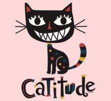 Catitude Kids Tee