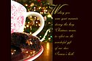 Quiet Moments Christmas Wish - Greeting Card by Tracy Friesen