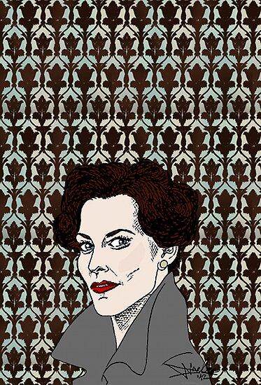 Miss Adler: Brainy/Sexy by NadddynOpheliah