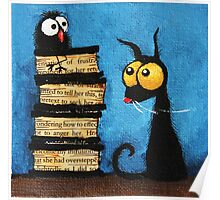 Tower of books Poster