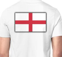 ENGLAND, England Flag, English Flag, Flag of St George, Pure & simple Unisex T-Shirt