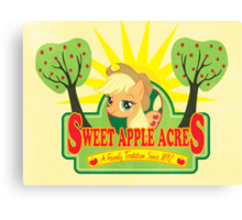 Sweet Apple Acres Canvas Print