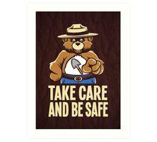 Take Care Art Print