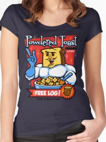 Powdered Toast Crunch Women's Fitted Scoop T-Shirt