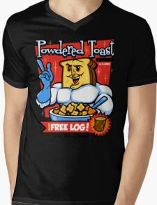 Powdered Toast Crunch Mens V-Neck T-Shirt