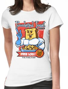 Powdered Toast Crunch Womens Fitted T-Shirt