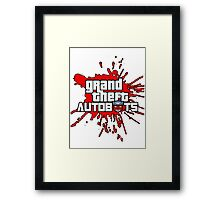 Grand theft autobot Framed Print