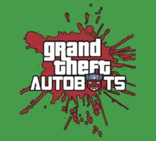 Grand theft autobot Kids Clothes