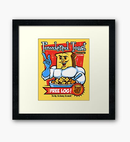 Powdered Toast Crunch Framed Print