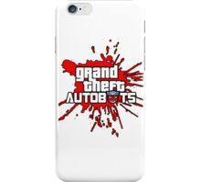 Grand theft autobot iPhone Case/Skin