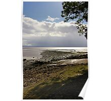 Over Morcambe Bay  Poster