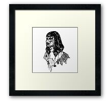 The Headhunter Framed Print