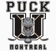 Montreal Hockey by SportsT-Shirts