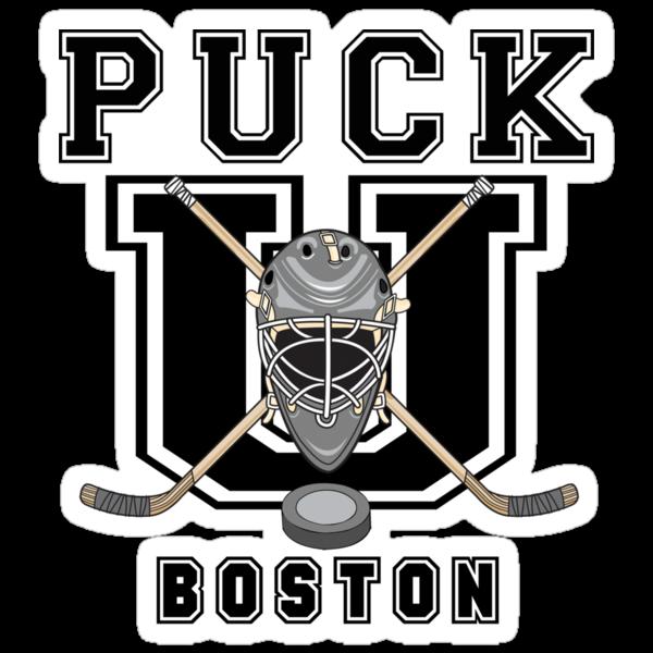 Boston Hockey by SportsT-Shirts