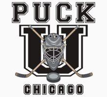 Chicago Hockey by SportsT-Shirts