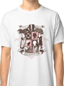 Grantham coat of arms (pink) Classic T-Shirt