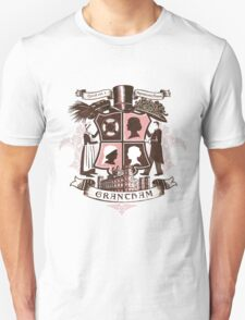 Grantham coat of arms (pink) Unisex T-Shirt