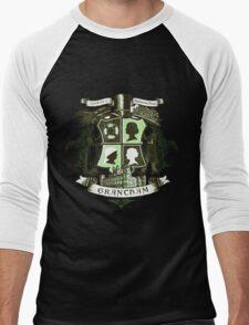 Grantham coat of arms (green) Men's Baseball ¾ T-Shirt