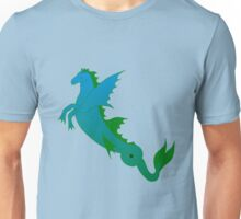 Hippocampus - the mythical sea horse Unisex T-Shirt