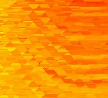 Sunrise in Abstract 01 by John Edwards