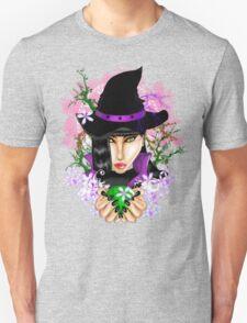 Green-Eyed Healing Witch T-Shirt