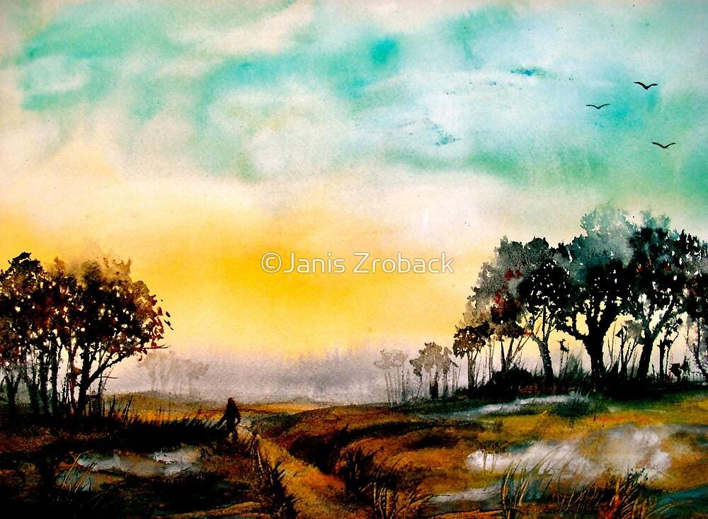 Twilight on Egdon Heath.. by ©Janis Zroback