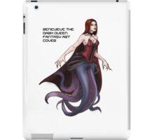 Genevieve The Dark Queen Fantasy Art  iPad Case/Skin