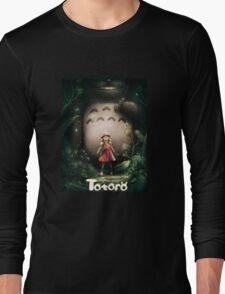 Totoro Film Long Sleeve T-Shirt