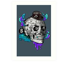 The Tattooed Gentleman Art Print