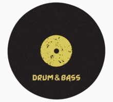 Drum & Bass (Vinyl) One Piece - Short Sleeve